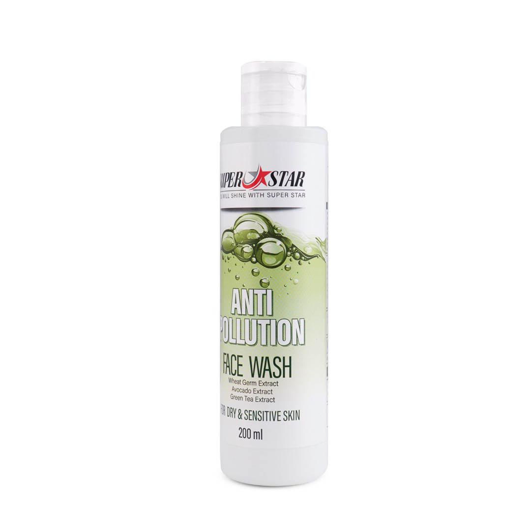 ژل شستشوی صورت محافظ در برابر آلودگی هوا پوست خشک و نرمال