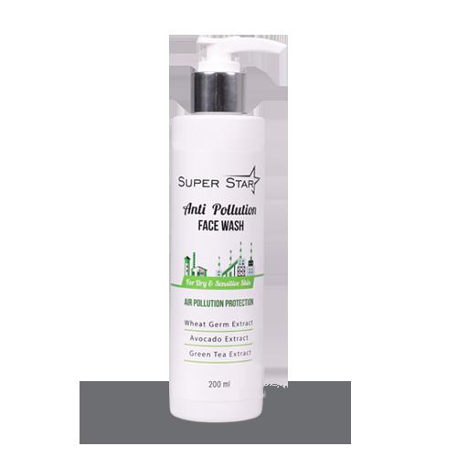 ژل شستشوی صورت محافظ در برابر آلودگی هوا پوست خشک و نرمال | بازاریابی شبکه ای