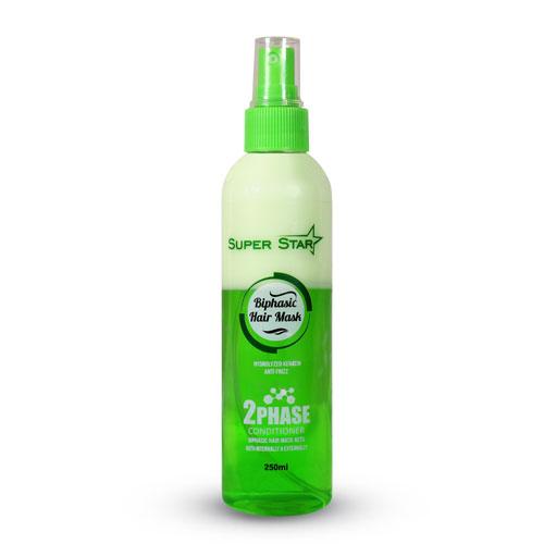 ماسک کراتینه دوفاز حاوی روغن گیاهی سوپر استار -سبز | بازاریابی شبکه ای