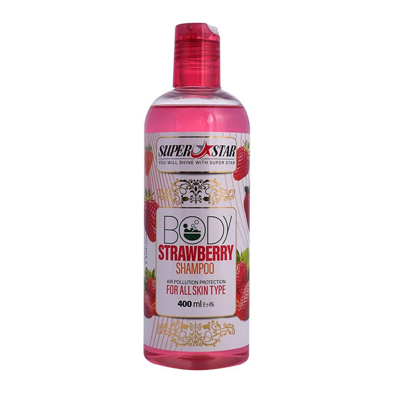 شامپو بدن توت فرنگی محافظ در برابر آلودگی هوا | بازاریابی شبکه ای