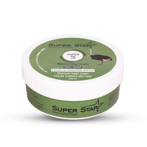 کرم مرطوب کننده کاسه ای شترمرغ سوپراستار  | بازاریابی شبکه ای