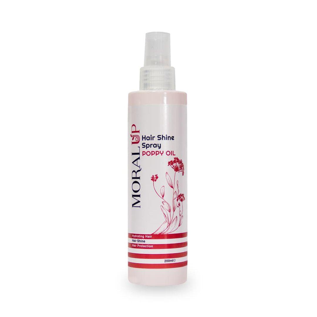 اسپری درخشان کننده مو، حاوی روغن خشخاش (جوانساز) | بازاریابی شبکه ای